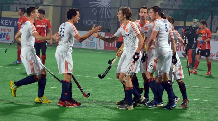 Netherlands had edged Korea 3-2 in a closely fought encounter. Korea will next play hosts India in their next pool C game.