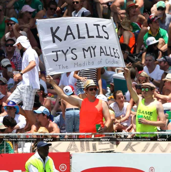Thirty-eight-year-old Kallis announced his retirement on Wednesday. He will continue to play ODIs and T20s for South Africa.