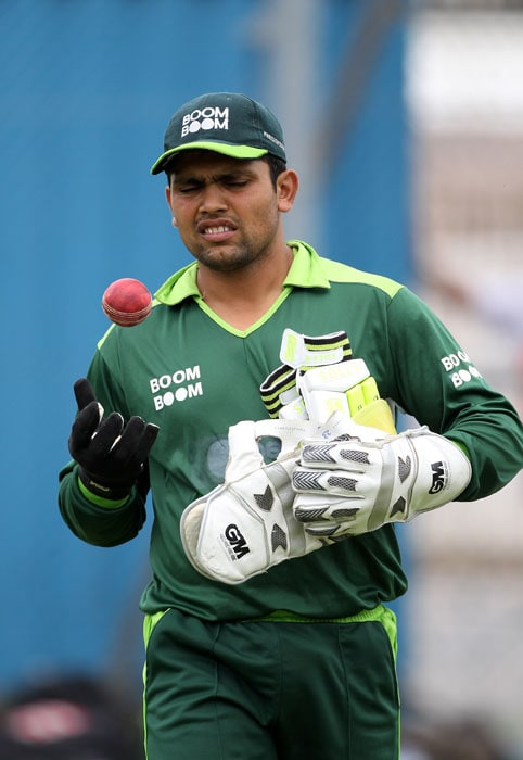 Why did Kamran Akmal have to walk back to the team hotel after the match? Because he failed to catch the bus!