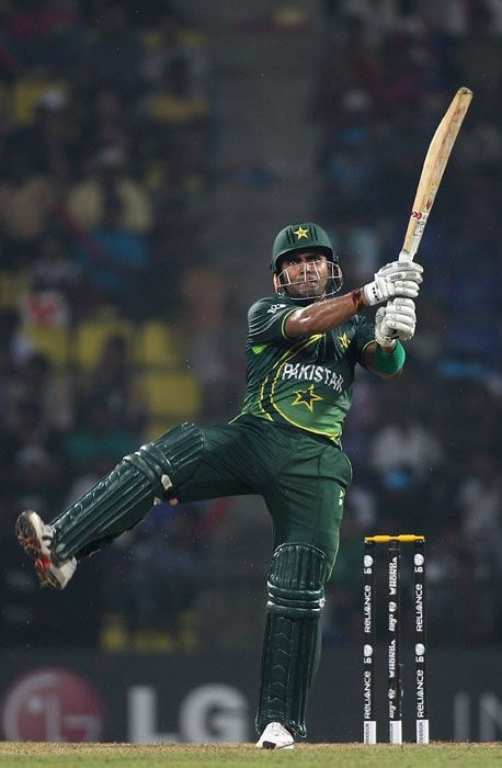 Why is Umar Akmal the best batsman in the Akmal family? Because he got the most chance to bat in the back yard as Kamran Akmal kept dropping him.