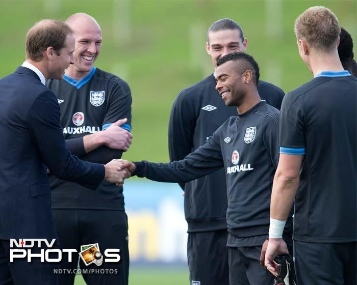 Expect Ashley Cole though to ease a bit of tension. After tweeting against FA landed him in trouble, he may as well have been asking for 'Royal intervention.'