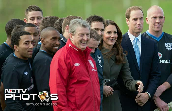 Time for the big boss to step in!<br><br>Roy Hodgson decides that he will not let his players take all the Royal attention.
