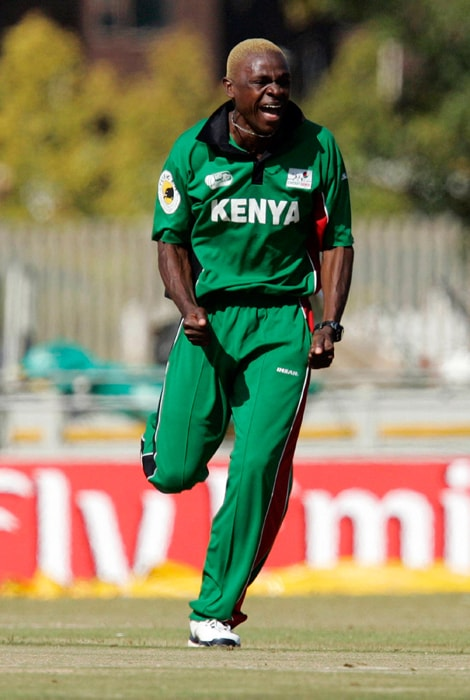 <b>ELIJAH OTIENO</b><br><br> <b>Age: </b>23.<br><b>Role: </b>Right-hand batsman, Right-arm medium-fast<br> <b>Stats: </b>ODIs 16, Runs 27, Highest 11, Average 5.40, Strike-Rate 32.92, Centuries 0, Fifties 0, Catches 3, Wickets 12, Best-Bowling 3-39, Averages 42.33, Economy-Rate 5.87<br><br> An accurate medium-pace bowler who gets bounce from the pitch. He's also a genuine tail-ender who has been scoring runs down the order.(Photo: Getty Images)