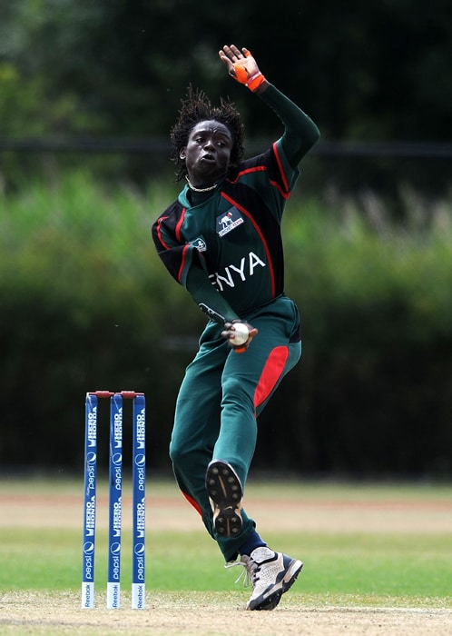 <b>NEHEMIAH ODHIAMBO</b><br><br> <b>Age: </b>27.<br><b>Role: </b>Right-hand batsman, Right-arm medium-fast<br> <b>Stats: </b>ODIs 53, Runs 425, Highest 66, Average 12.14, Strike-Rate 76.43, Centuries 0, Fifties 1, Catches 7, Wickets 57, Best bowling 4-61, Average 34.29, Economy-Rate 5.56<br><br> A brilliant fielder who loves taking on the big teams. He achieved his best bowling figures 4-61 against Zimbabwe in October 2009 and is looked upon to provide back-up in the pace attack.(Photo: Getty Images)