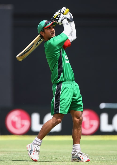 <b>TANMAY MISHRA</b><br><br> <b>Age: </b>24.<br><b>Role: </b>Right-hand batsman, Right-arm fast-medium<br> <b>Stats: </b>ODIs 29, Runs 730, Highest 66, Average 31.73, Strike-Rate 73.73, Centuries 0, Fifties 3, Catches 13<br><br> The aggressive Mumbai-born middle-order batsman is yet to cement his place in the team. He is known for his free attacking strokeplay and likes to dominate the opposing bowlers from the off.(Photo: Getty Images)