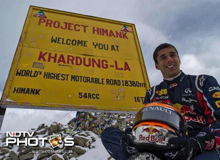 "For the 27-year-old Jani, this was an experience he's unlikely to forget in a hurry. ""Of all the places I've driven around the world, Khardung La has got to be the most humbling. The Himalayas are as imposing as anything in the world and to become a part of history here will be a cherished memory,"" said Jani."