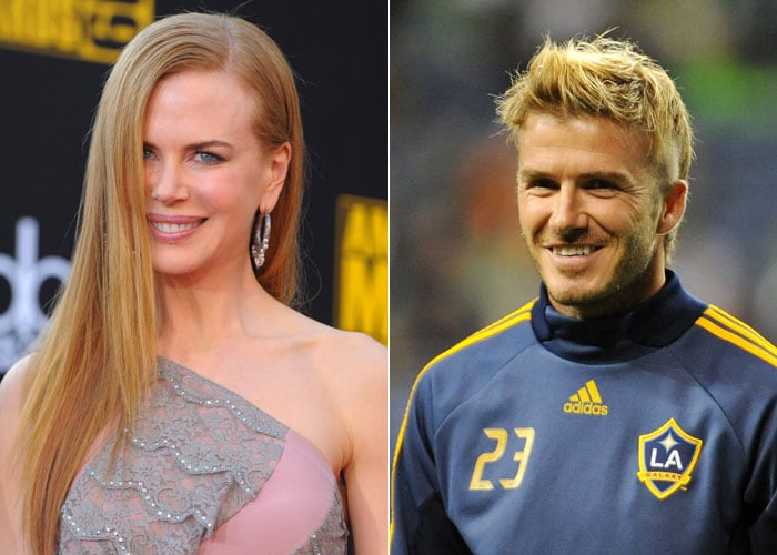 It's going to be a Star War between Hollywood actor Nicole Kidman and soccer star David Beckham as different countries come together on December 4 to take part in the bidding war for the 2018 FIFA World Cup.