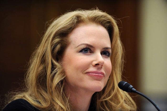 Kidman from Australia will make personal appearances to try and boost her home country's chances of bagging the 2018 hosting rights. The Football Federation of Australia though are being considered rank outsiders for the 2018 version, but could be in with a chance for the 2022 World Cup. (AFP Photo)