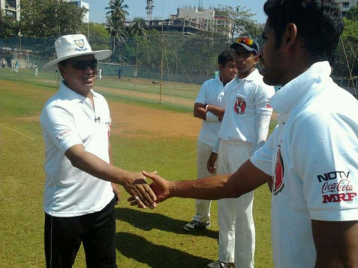 Former India wicket-keeper Kiran More meets the blue eyed boys from Mumbai University. The Western Wolves are one of the favourites for TUCC.
