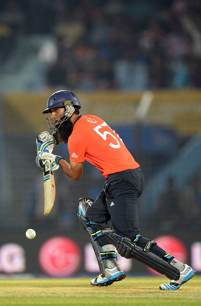 Moeen Ali also played a crucial role. He hit the highest individual score of the innings - 36 off 23 - to quicken the pace.
