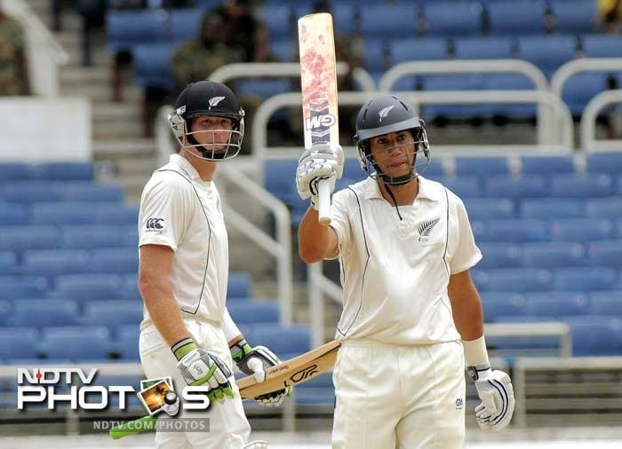 Ross Taylor: He did not have a great IPL this year but is comfortable with the Indian conditions. He is coming on the back of useful knocks against West Indies and will look to prove more points. (AFP images and AP Photo/Digicel Cricket.com)