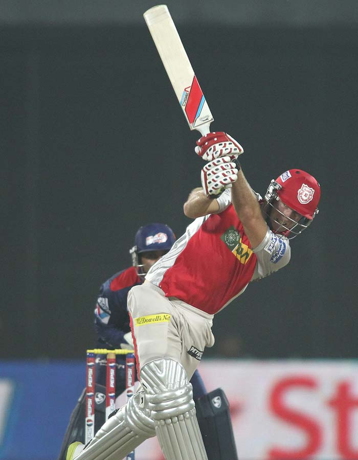 David Miller though looked determined and scored a steady 34 off 39 balls to take his team towards victory. (BCCI Image)