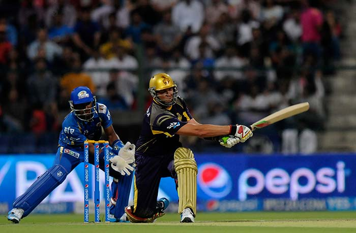 Kolkata Knight Riders opener Jacques Kallis hit 72 off 46 balls that helped the 2012 champions post a competitive total. He was dropped on 34 by Lasith Malinga.