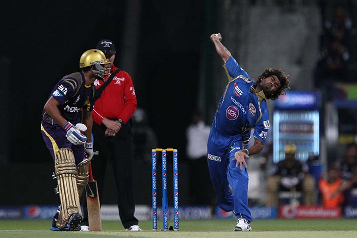 Pace spearhead Lasith Malinga was the pick of Mumbai Indians bowlers, finishing with figures of 4/23.
