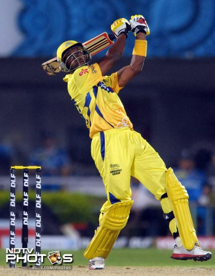 <b>Dwayne Bravo:</b> Chennai have not one but two fantastic allrounders in Dwayne Bravo and Albie Morkel who can turnaround a match on their own - with ball or bat. Both have been brilliant for their team in patches but given how late down the order Albie comes and how Bravo has been smashing boundaries in the playoffs it may just be the West Indian playing the bigger hand in the game.