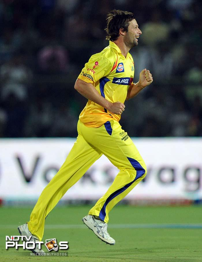 <b>Ben Hilfenhaus:</b> He has been one of the biggest factors in Chennai's reversal of fortunes since making a dismal start to the season. His addition after missing first half of the season due to international duties has brought balance in the side and added teeth to Chennai's bowling. His early wickets, especially if he gets rid of KKR skipper Gambhir, would give Chennai a huge edge. The Australian has so far picked up 12 wickets in 8 matches at an economy rate of under 7.