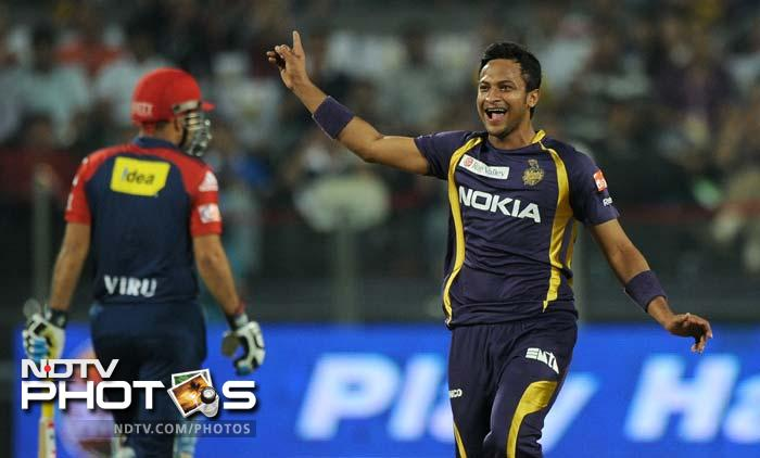 <b>Shakib Al Hasan:</b> He has been given only seven games but has proved his worth in the short run. Shakib has picked up 11 wickets and struck a match winning 42 on a difficult pitch in KKR's last league game against Pune Warriors that sealed the second spot for Kolkata in the points table.