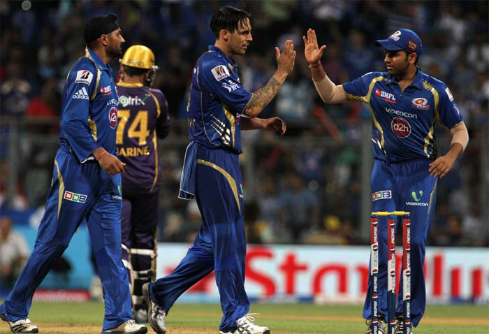 Kolkata eventually folded for 105 as Mumbai won the game by 65 runs to consolidate their position in the top four. (Image credit BCCI)