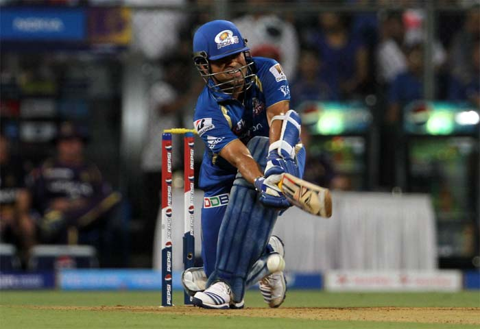 Sachin Tendulkar showed signs of old as he smashed 48 from 28 balls. (Image credit BCCI)