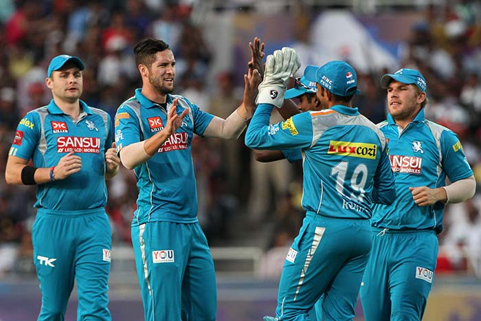 Kolkata Knight Riders lost by 7 runs to Pune Warriors India and that ended their chances of a top-four finish. (BCCI Image)