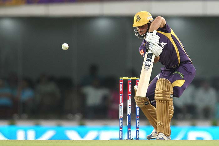 Ryan ten Doeschate gave Pathan good support with 42 from 30. (BCCI Image)