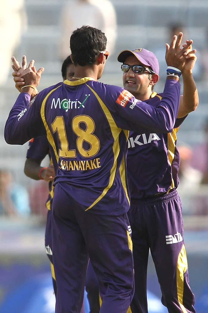 Sachithra Senanayake bowled him before he could do much damage. (BCCI Image)