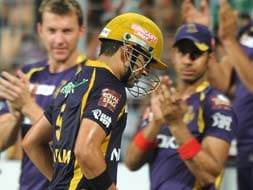 Photo : IPL 5: Gambhir stars as Kolkata maul Bangalore