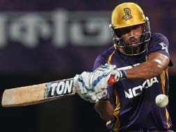 Photo : Kolkata keep hopes alive with 8 wicket win over Rajasthan