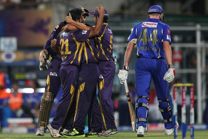 Iqbal Abdulla justified his selection as he dismissed James Faulkner for 1 and Rajasthan were 27/2. (Image credit BCCI)