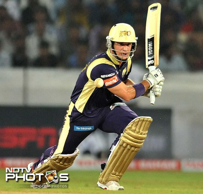 Ten Doeschate's knock ensured Kolkata's passage and eliminated Ruhunu, who were also with a chance of qualifying after their win in the earlier match in the day. (AFP Photo)