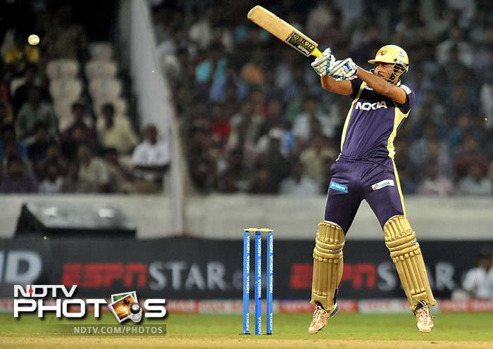 Yusuf Pathan once again failed with the bat, making only 12 off 13 balls. (AFP Photos)