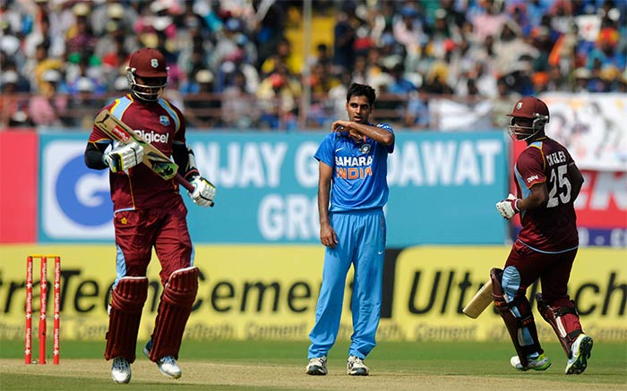 West Indies tried to negotiate Indian seam attack but were largely unable to make India sweat.