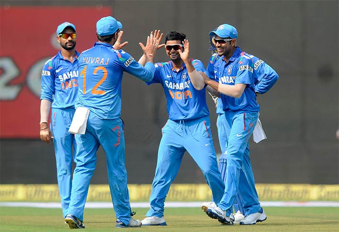 Once skipper MS Dhoni brought spin in, West Indies collapsed in a rush. <br><br>Ravindra Jadeja was one of the main bowlers responsible for wrecking havoc.