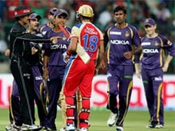 Photo : IPL 2013: Virat Kohli vs Gautam Gambhir - the war of words