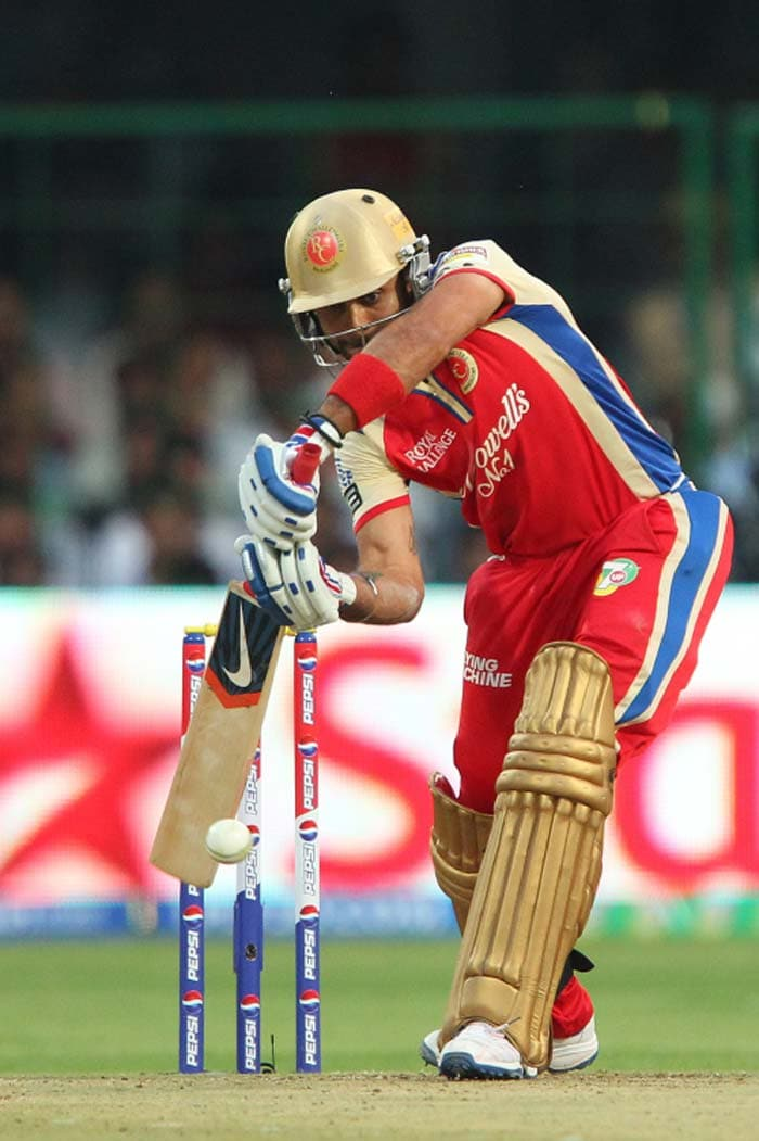 Chasing 154, Kohli looked in fine touch and scored 35 off 27. (BCCI image)