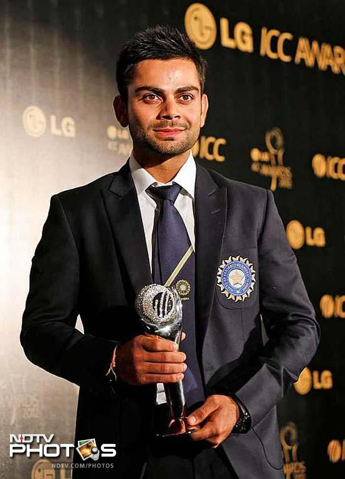 Virat Kohli was the ICC ODI cricketer of the Year, and rightly so. India has a long and tough season ahead, and with his current form Kohli is the man everyone will be looking up to.