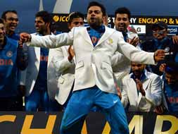 Virat Kohli leads the dance of champions