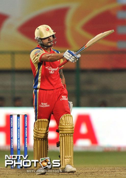 Soon after he was selected by Royal Challengers Bangalore for the inaugural Indian Premier League for only $30,000. He didn't fare too well, scoring only 165 runs in 13 innings, but by the end of the next two seasons he had become so vital that he became the only player to be retained by RCB for IPL 4, ahead of the likes of Jacques Kallis and Rahul Dravid.