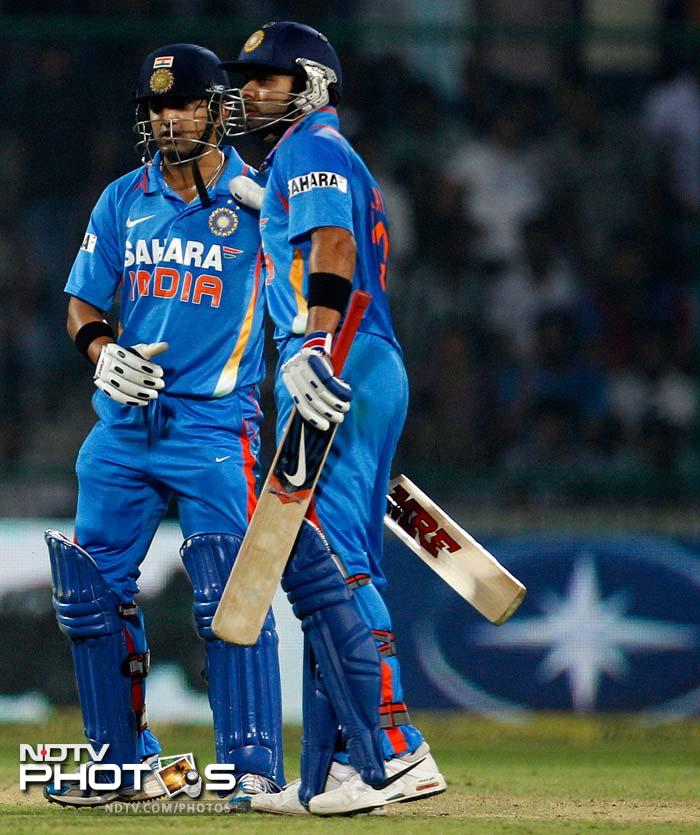 The U-19 success got him included in India's squad for the one-day series in Sri Lanka in August 2008 and the Champions Trophy to follow in Pakistan.