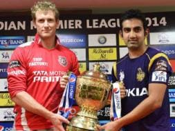 Kolkata Knight Riders and Kings XI Punjab Face Off in Big IPL 7 Final