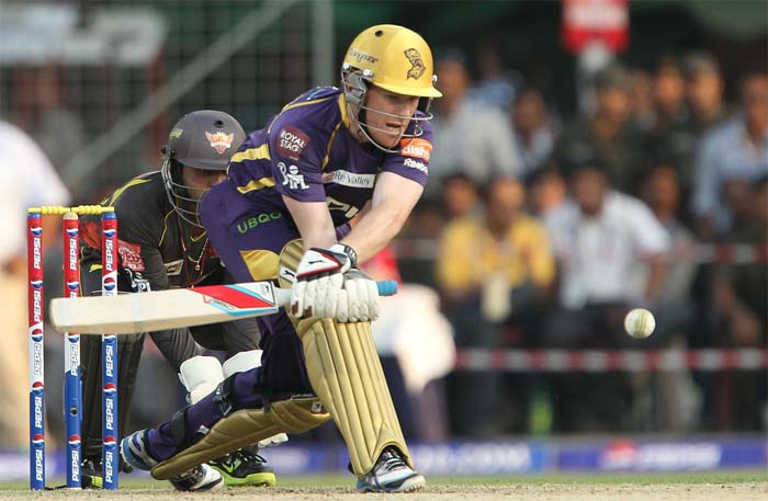 Morgan too scored 47 but was quicker. He played just 21 deliveries and hit five boundaries and three sixes. (BCCI image)