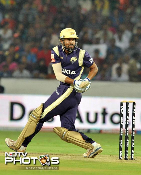 <b>Yusuf Pathan:</b> There is a reason why he was one of the most sought after players in the auction before the fourth season. Kolkata paid big money for him and although he didn't exactly set the stage on fire last season, he is always a threat, a bomb waiting to explode.