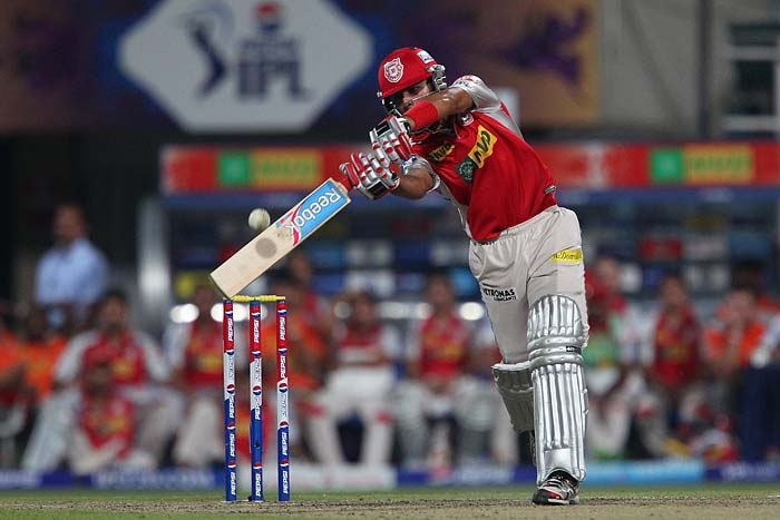 Right-handed number three batsman Manan Vohra top scored for the visitors, his 31 was punched with three fours and a six.