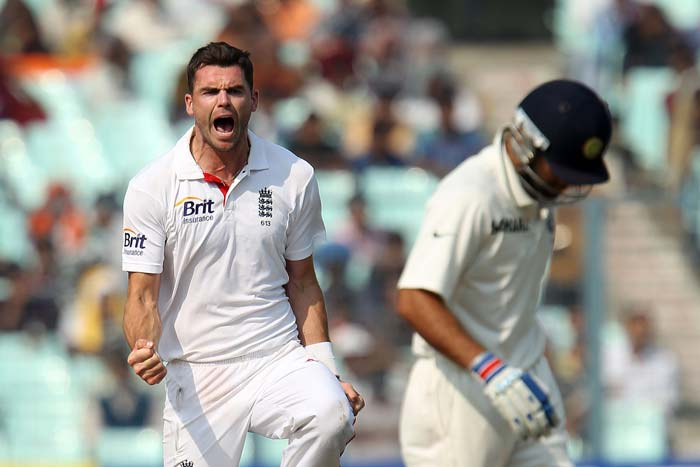 Virat Kohli's search for form continued as he failed yet again. This time a brilliant spell of reverse swing bowling by Jimmy Anderson did him in. He made just 6. (Photo credit: BCCI)