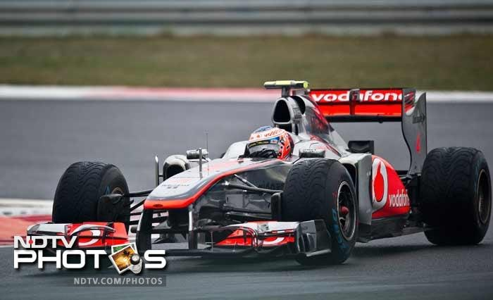 Hamilton's McLaren teammate and compatriot Jenson Button, the winner of last week's Japanese GP, was third fastest.