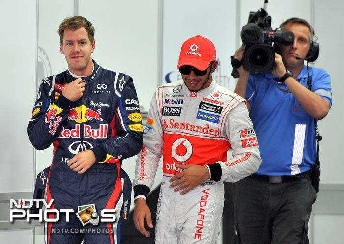 Never count Lewis Hamilton out. The McLaren driver nearly avoided the drop zone in Q1, only to come back strongly and finish third on Saturday.
