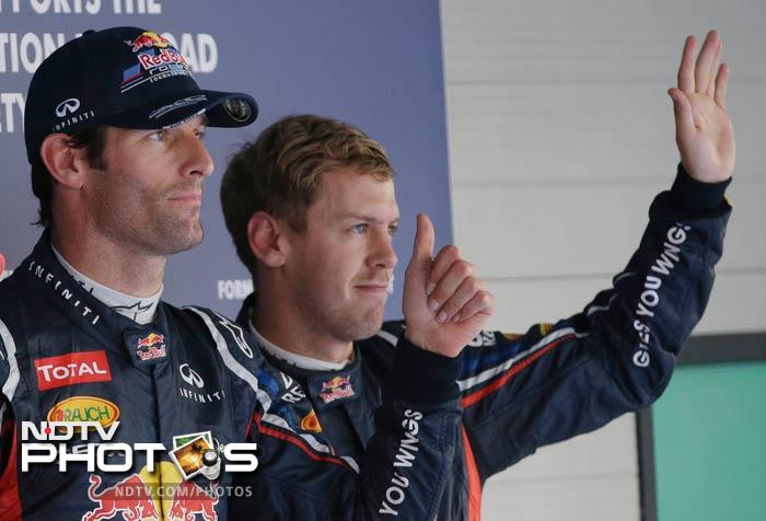 Sebastian Vettel to start second — now that's not what you hear everyday. A slower Q3 may have cost the German the pole position to his teammate, but Korean GP is set to witness a rollicking Red Bull vs Red Bull on Sunday.
