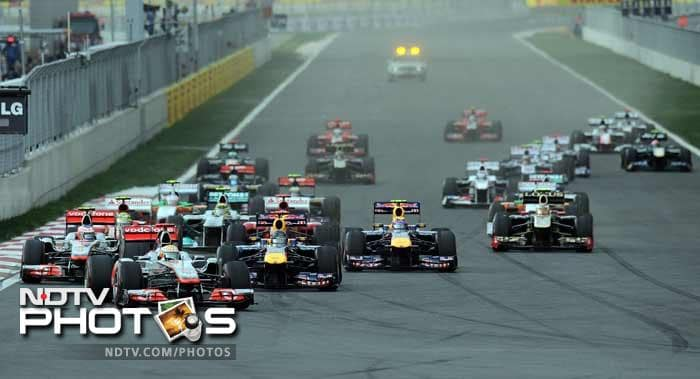 Jaime Alguersuari of Toro Rosso, Nico Rosberg of Mercedes, Sebastian Buemi of Toro Rosso and British rookie Paul Di Resta of Force India rounded off the top 10. Force India's Adrian Sutil came in eleventh.