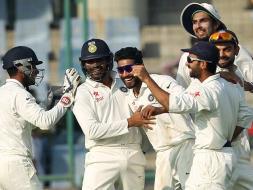India vs South Africa Kotla Test Day 2: Ravindra Jadeja, Ajinkya Rahane Give Hosts Edge