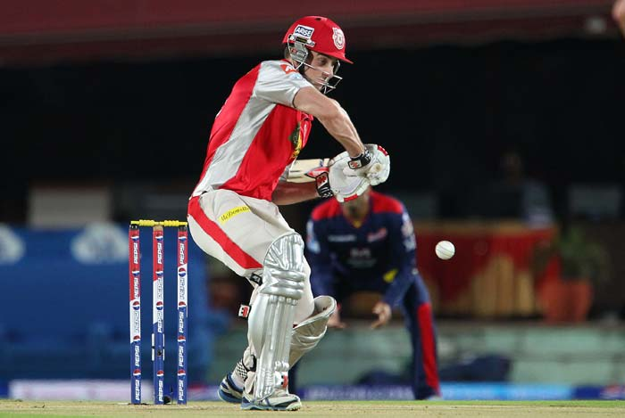 Shaun Marsh played a good hand of 45 runs. (BCCI Image)